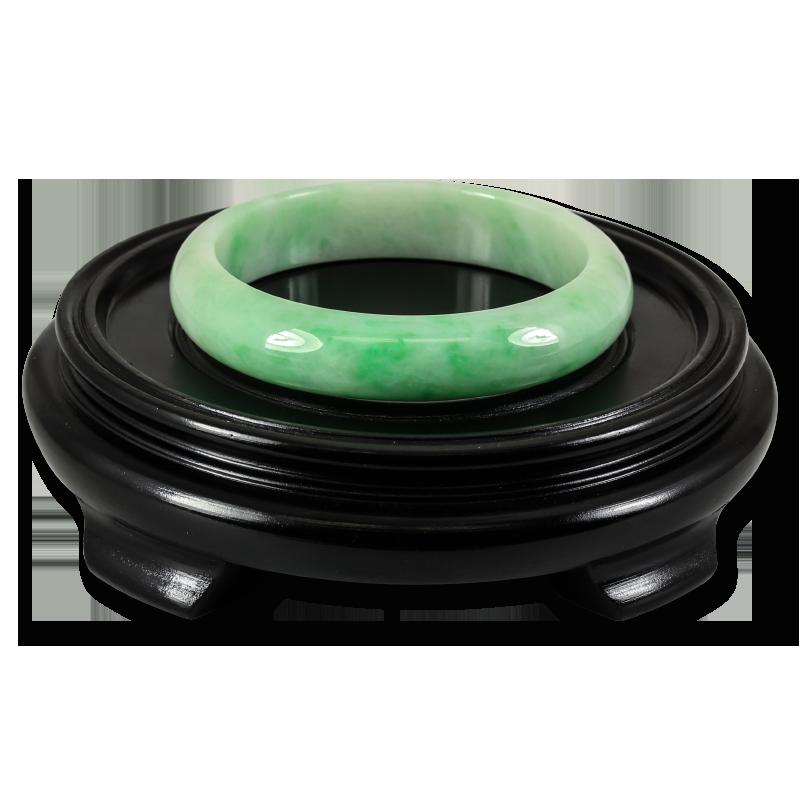 Natural Green Jade Bangle Bracelet